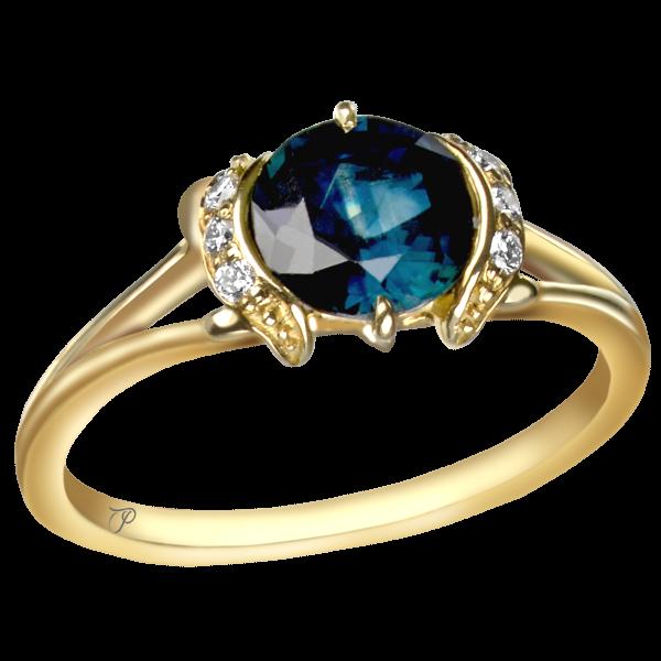 sužadėtuvių žiedai su brangakmeniais