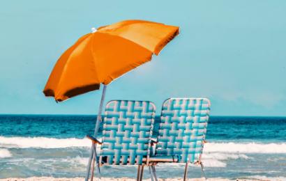 Lauko skėčiai – puiki apsauga nuo kaitrios vasaros saulės